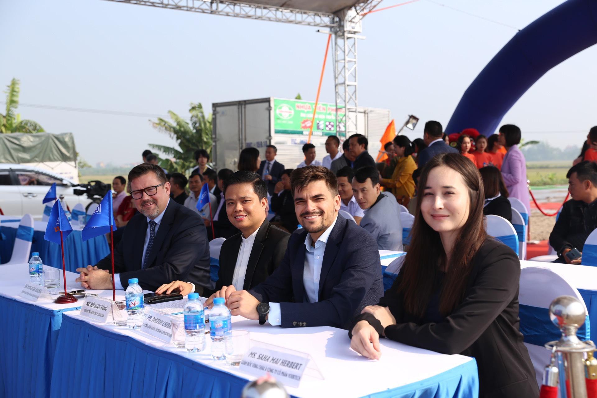 Khởi công nhà máy sản xuất sơn tự động công suất 50 triệu lít/ năm tại Hưng Yên