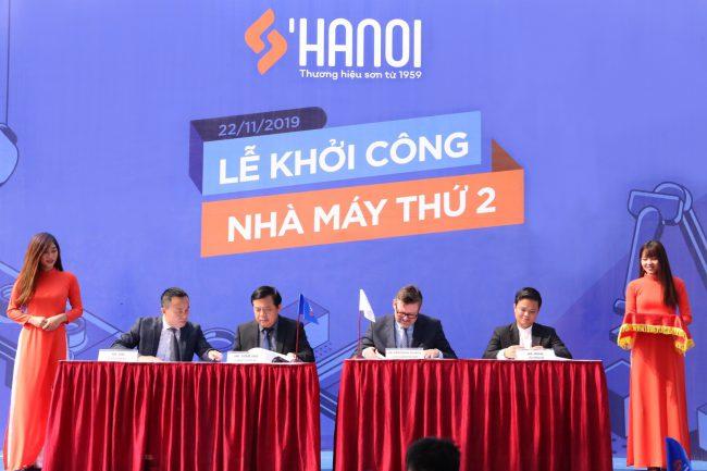 Sơn Hà Nội khởi công nhà máy sản xuất thứ 2 theo tiêu chuẩn châu Âu