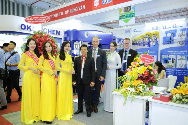 Công ty Yourtech cùng với Tập đoàn Niemann tham gia Triển Lãm Vietnam Coating Show lần thứ 7