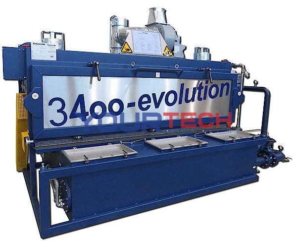TYPE 3400 Parts washing machine