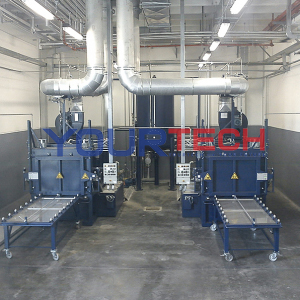 Parts washing machine (painting press)