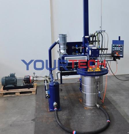 Máy rửa bồn chứa TYPE SP