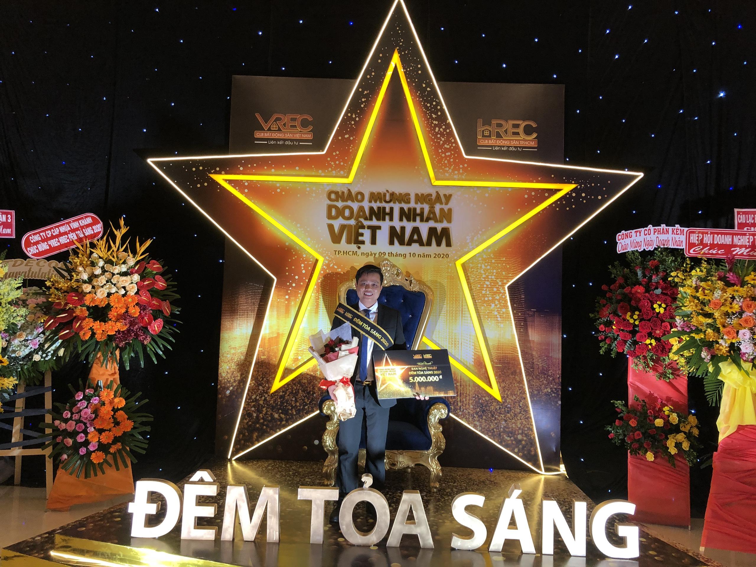 CEO Bùi Ngọc Hùng tham gia Đêm tỏa sáng 2020 VREC – HREC