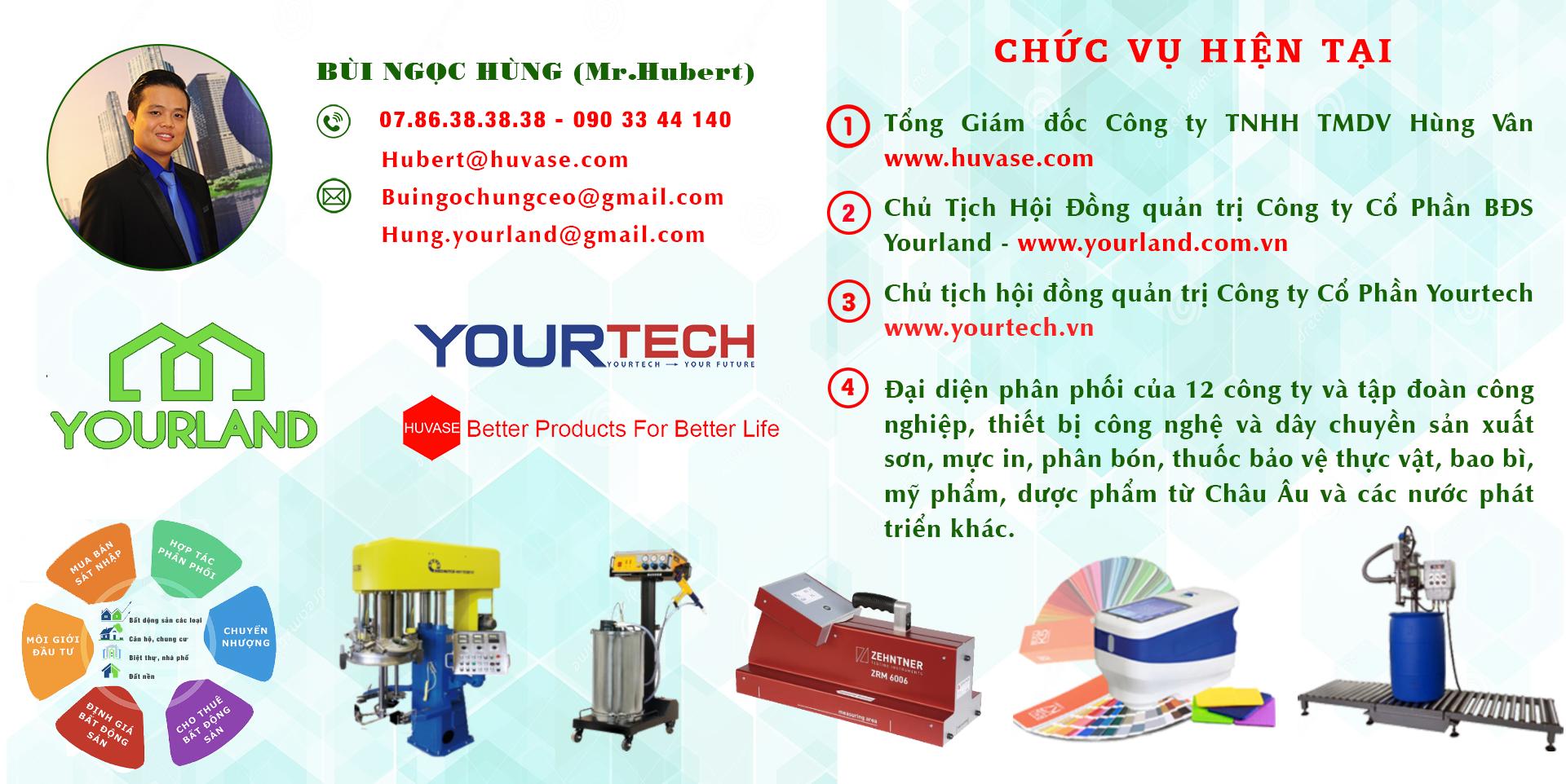 Profile cơ bản CEO Bùi Ngọc Hùng